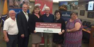 Province Invests $50,000 for Festival of Tall Ships
