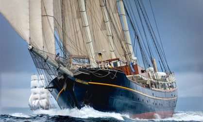 The Miramichi Festival of Tall Ships 2017 Presents Gulden Leeuw